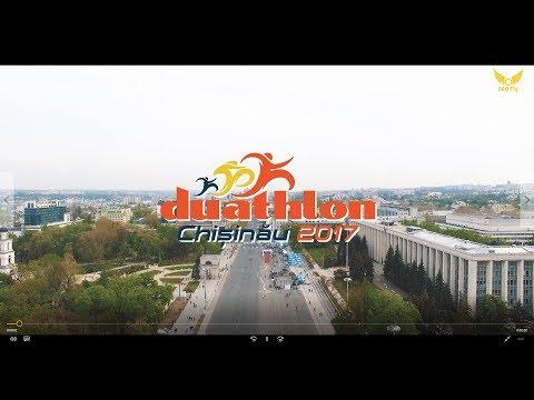 DUATHLON CHISINAU 2017 (Republic of Moldova) Aerial 4K UHD