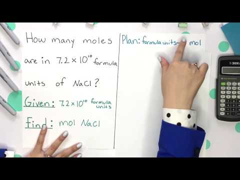 Using Avogadro's Number | How to Pass Chemistry