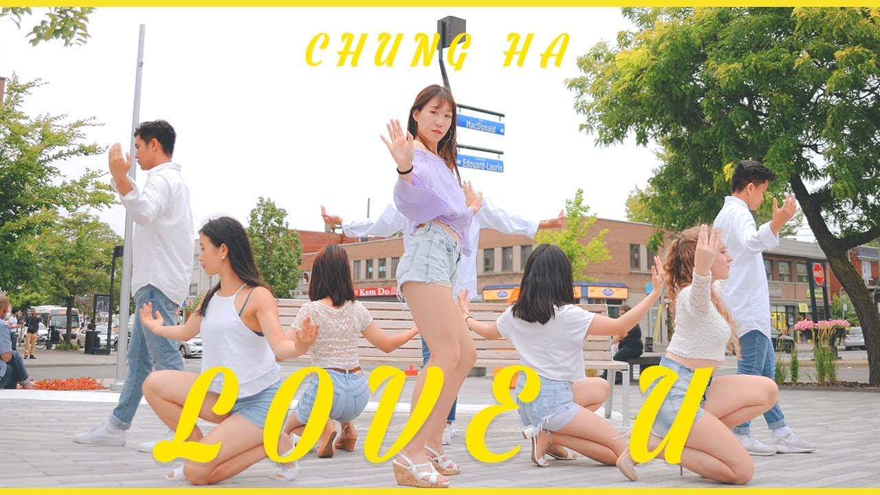 [KPOP IN PUBLIC MONTREAL] 청하 (CHUNG HA) - Love U   Dance Cover by 2KSQUAD