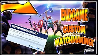 FORTNITE NEW ENDGAME GAMEMODE! V-BUCKS GIVEAWAY 5K SUBS! NOUVEAU FORTNITE AVENGERS SKINS COMING!