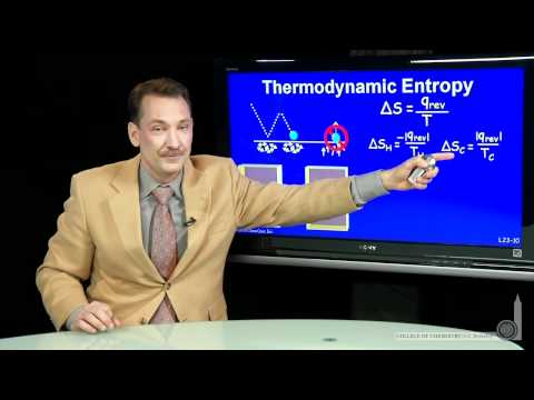Thermodynamic Entropy