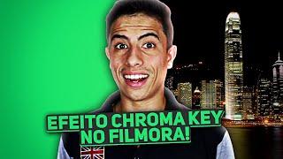 Como fazer efeito Chroma Key no Filmora