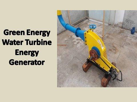 green energy | best design of water turbine energy generator |