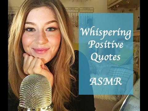 [ASMR] Positive Quote Reading