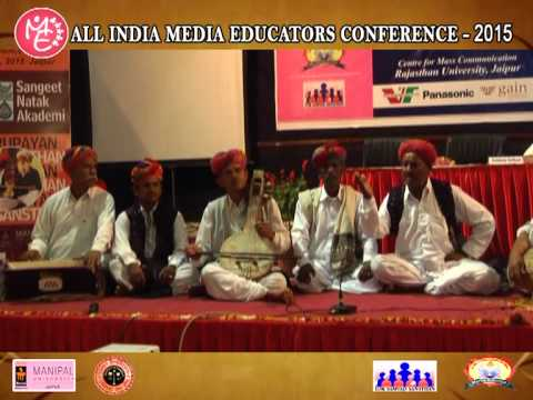 Media Educators Conference Jaipur 2 -  4 april 2015