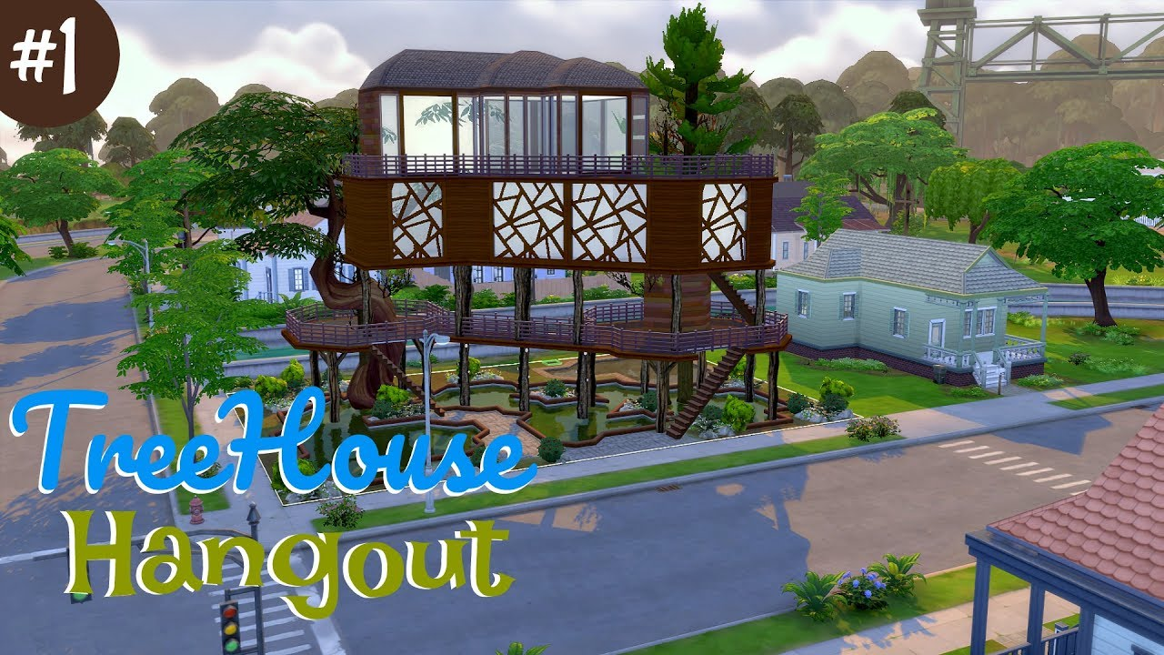 Sims  Speed Build Treehouse