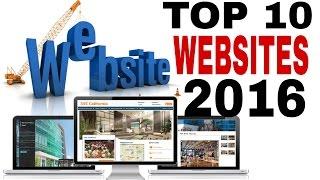 Top 10 Websites - TOP 10 WEBSITES OF 2016