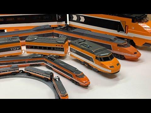 TGV COLLECTION! Micro Machines Train Found