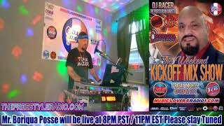 DJ RACER INTERVIEW WITH MR. BORIQUA POSSE - 05/0/2020
