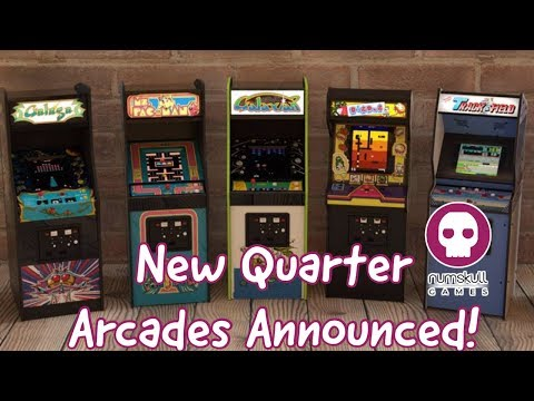 Numskull Quarter Arcades - Ms. Pac-man, Galaga, Track & Field And More!