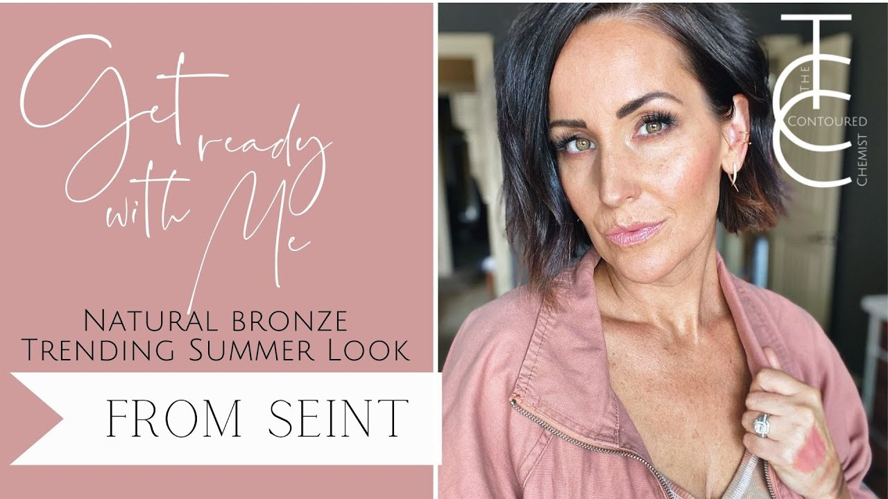 Get Ready with Me / Summer 2021 Makeup Trends using Seint IIID Foundation