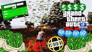 GTA V PC Online 1.40 - RECOVERY MENU - MONEY - 8000 RANK - FREE (Undetectable)
