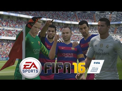 FIFA 16 - Probando la Demo - Barcelona Vs Real Madrid, el día de los Penalties