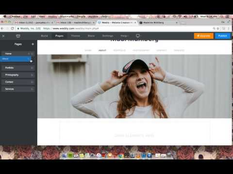 Building Your Artist Website On Weebly