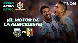 Fiebre de Copa América: ¡Partidazo de Argentina! Messi orquesta la goleada | Retro 2016 | TUDN