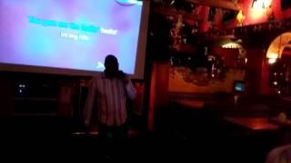 Terrell singing Maxwell