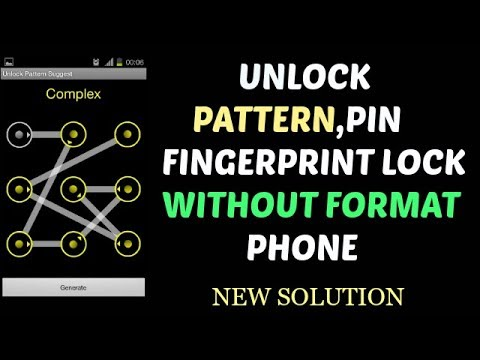 Unlock Pattern Pin Without Hard Reset , New Trick Mp3 indir