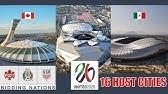 UNITED 2026 North America World CupStadiums and 16 Host Cities
