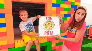 Vlad và Niki thử thách Pizza dành cho mẹ