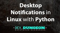 Desktop Notifications in Linux with Python