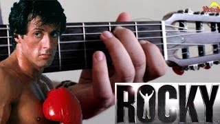 Gonna Fly Now  -  ROCKY BALBOA  -  Acoustic Guitar - Violão