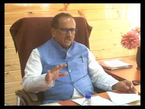 DY CM Presiding a meeting regarding Food inspectors
