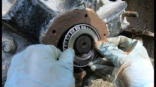 installing-a-wheel-bearing-in-a-dump-truck