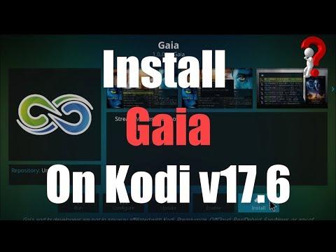 New Release Gaia Kodi Addon