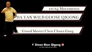 Da Yan Wild Goose Qigong Grand Master Chen Chuan Gang - 1st 64 Movements