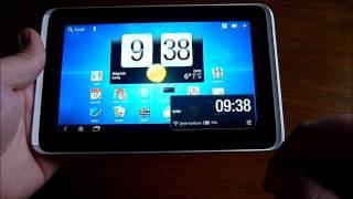 HTC Flyer review - video test na srpskom