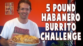 5 Lb Grande Habanero Burrito Challenge At San Diego Taco Co | Freakeating In Salem, Or