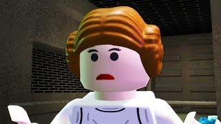 LEGO Star Wars The Complete Saga Walkthrough Part 22 - Rescue!