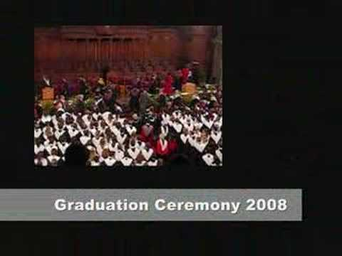 Edinburgh Graduation Ceremony