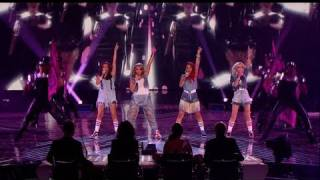 Little Mix head back home - The X Factor 2011 Live Final - itv.com/xfactor
