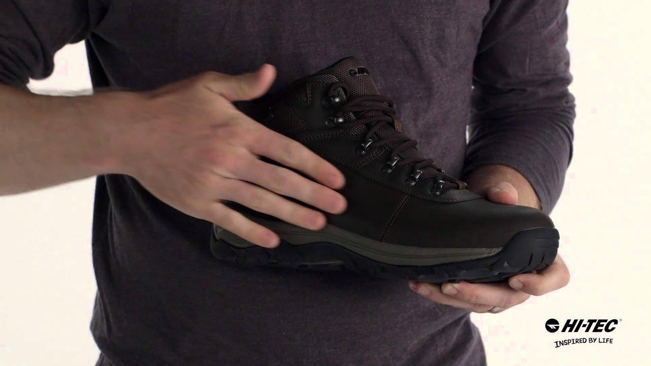 614e49f98b4 Altitude Base Camp Waterproof - Premium Men's Hiking Boot by Hi-Tec