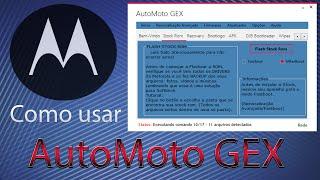 Como usar o AutoMoto GEX - Motorola Devices