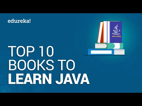 Top 10 Books to Learn Java in 2021 | Best Java Books For Beginner and Advanced Programmers | Edureka