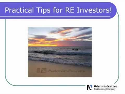 Investment Property Bookkeeping / Learn Real Estate Quickbooks