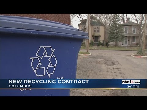Columbus City Council approves 'steep price increase' in recycling costs, after sole bid