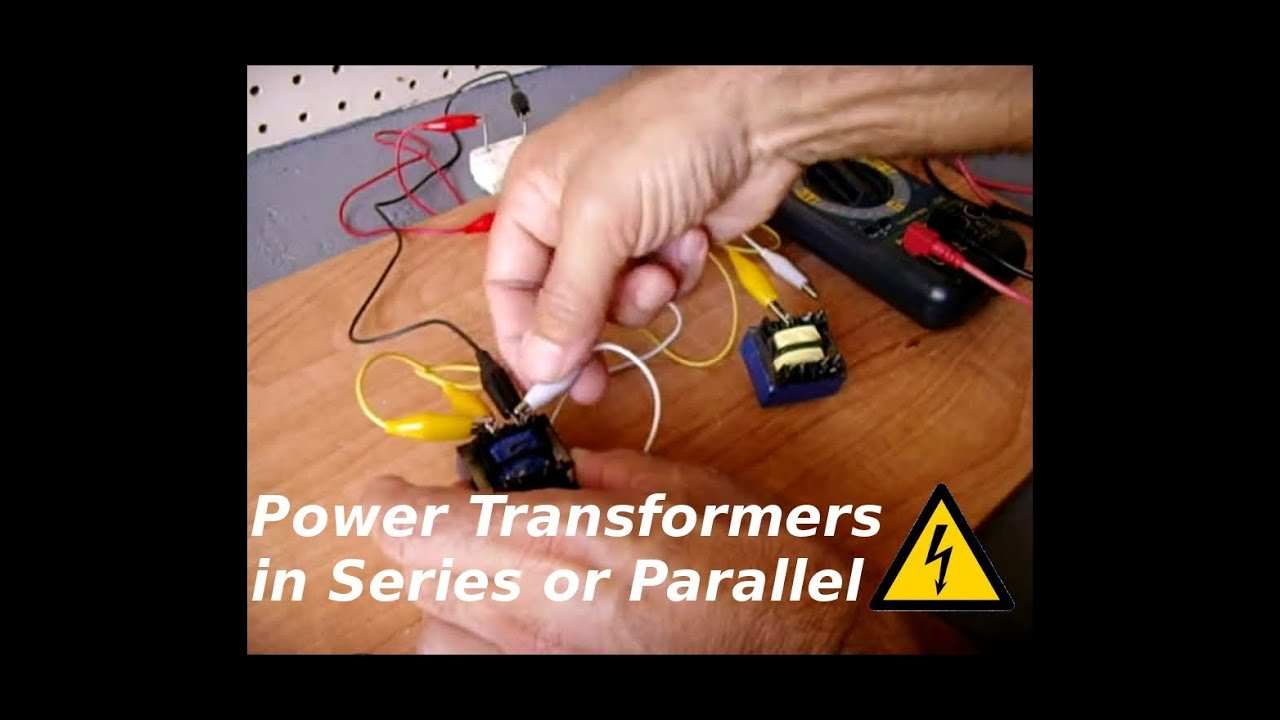 using power transformers in parallel or in series youtube rh youtube com Wiring Up a Transformer Wye Transformer Wiring