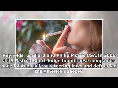 Big tobacco forced to run a year of ads admitting smoking kills