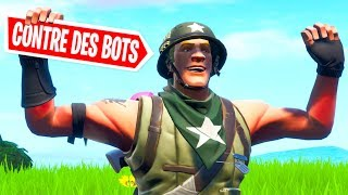 NEW MODE: ON BOTS on FORTNITE!!