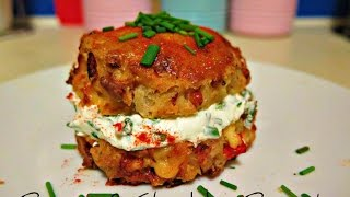 How to make Bacon & Cheddar Biscuits (Savoury Scones) - Stop Motion Cookery