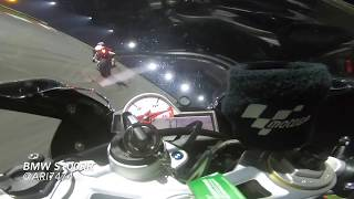 Ari7474 onboard S1000rr at night in Sepang Circuit Full Track Jul 2018