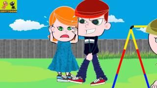 Animated Nursery Rhymes | Georgy Porgy Pudding & Pie | Kids Songs With Lyrics By ZippyToons TV