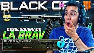 ¡¡JUGANDO CON LA GRAV (Galil) DESBLOQUEADA EN BLACK OPS 4!!