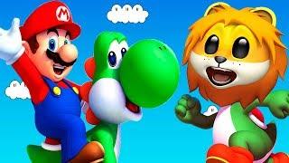 ПРИКЛЮЧЕНИЯ СУПЕР МАРИО - видео игра! #игровой мультфильм новые серии 2018 - Super Mario Odyssey!