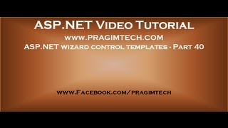 Asp.net wizard control templates   Part 40