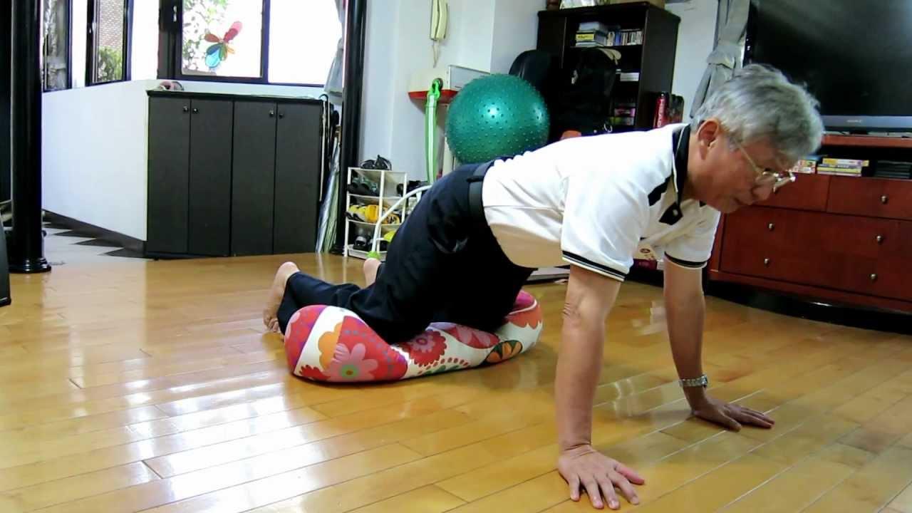 跪膝按摩 膝蓋復健法, Best knee Rehab:Kneeling Massage,  膝を暖め、回復に良いエクササイズ