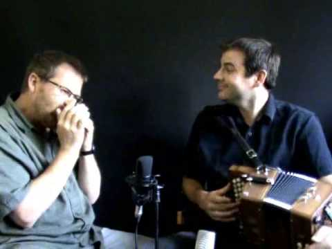 Button Box & Harmonica: Tim Edey & Brendan Power jam out on a couple of tunes.